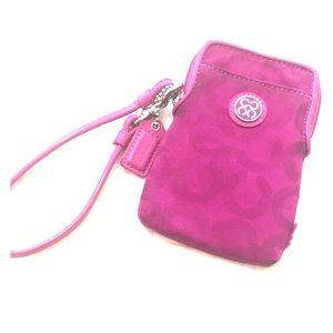 Coach Pink Mini Wallet